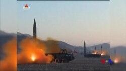 北韓星期日再射導彈 日韓嚴厲譴責 (粵語)