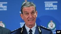 Cảnh sát trưởng New South Wales Andrew Scipinoe.