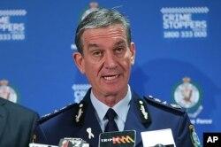 澳大利亞新南威爾士州警察總長希皮奧內。(資料圖片)