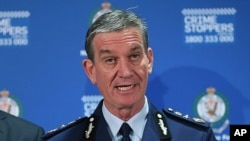 New South Wales police commissioner Andrew Scipione (File Photo)