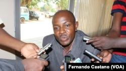 Francisco Sobral, secretário provincial da Casa-CE, Kwanza Sul, Angola