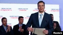 Ông Aleksandar Vucic, tân Thủ tướng Serbia