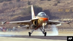 Chiến đấu cơ T-50, máy bay siêu âm đầu tiên của Hàn Quốc.