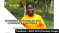 """Une affiche des premières """"Journées nationales du commerce équitable"""" à Abidjan, 18 septembre 2018. (Facebook/JNCE 2018)"""