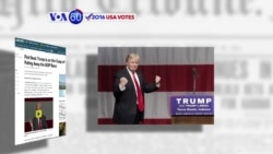 VOA60 Elections - NBC News: Trump is closer to being the Republican presidential nominee