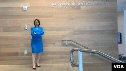 Deo Instituta Ventvort nosi ime Zorice Pantić (Foto: VOA/Helena Đorđević)