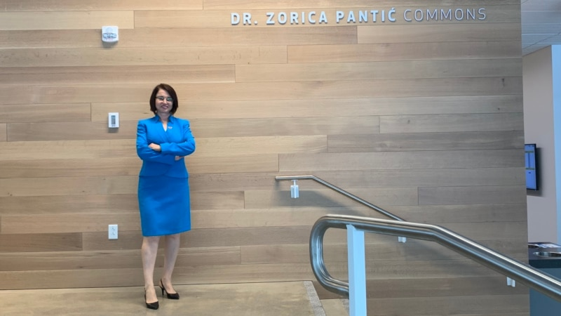 Rektor Zorica Pantić - žena kojoj je Boston posvetio dan
