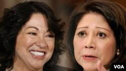 Hilda Solis y Sonia Sotomayor, mujeres de éxito.