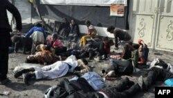 Žrtve samoubilačkog napada u Avganistanu, 6. decembar 2011.