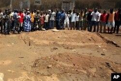 Site présumé d'une fosse commune au quartier Yopougon, à Abidjan