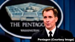 미 국방부 존 커비 대변인(자료사진)