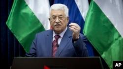 마무드 압바스 팔레스타인 자치정부 수반.