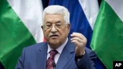 Le président palestinien Mahmoud Abbas, Jericho, le 11 novembre 2016.