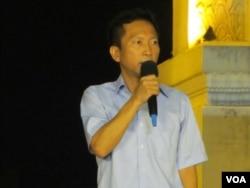 台北市議員李慶鋒 (美國之音張永泰)