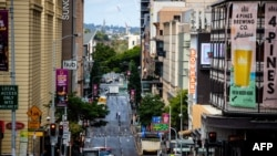 A street is seen in Brisbane's central business district on June 30, 2021, as the city falls quiet from a lockdown with Australia battling outbreaks of the highly contagious delta variant of COVID.