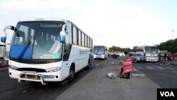Botswana-Zimbabwe buses
