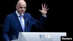 Gianni Infantino, shugaban hukumar kwallon kafa ta duniya FIFA