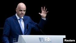 Gianni Infantino yatorewe kuba perezida mushya wa FIFA