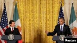 El presidente Peña Nieto dijo que las relaciones entre los dos países están pasando por una de sus mejores etapas