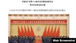 中纪委网站(网络截屏)