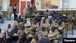 Military experts discuss retaking control of northern Mali, Bamako, October 30, 2012.