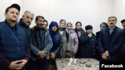"""""""Tərtər işi"""" üzrə həbs edilənlərin ailə üzvləri"""