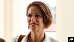 រូបឯកសារ៖ លោកស្រី Christine Schraner Burgener ជាប្រេសិតពិសេសរបស់អង្គការសហប្រជាជាតិសម្រាប់ប្រទេសមីយ៉ាន់ម៉ា។