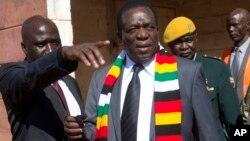Emmerson Mnangagwa Shugaban Zimbabwe