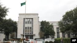 سفارت سعودی در ایالات متحده از ابتدا اتهام دست داشتن در حملات تروریستی ۱۱ سپتامبر ۲۰۰۱ را رد کرده بود.