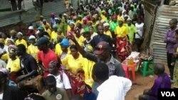 Manifestação em Cafunfo