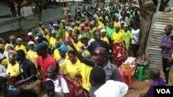 Manifestação nas Lundas ( foto arquivo)