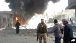 Сирия, Рас-аль-Айн, 12 ноября 2012г.