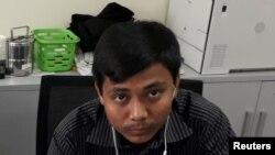 Reuters journalist Kyaw Soe Oo