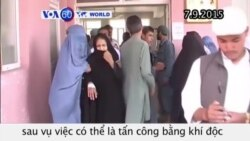 Afghanistan: Hàng trăm nữ sinh nhập viện (VOA60)