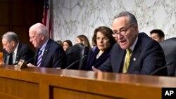Senat AS memulai debat atas sebuah RUU imigrasi (foto: dok).