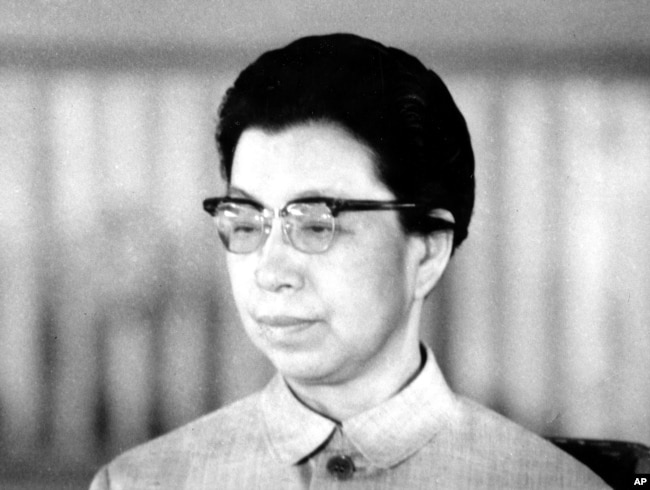 江青在1972年1月1日