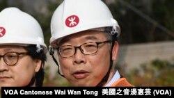 香港運輸及房屋局局長陳帆 (攝影:美國之音湯惠芸)
