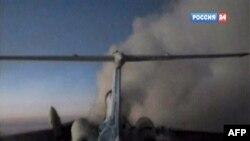 Хвостовая часть самолета Ту-154, взорвавшегося в Сургуте. 1 января 2011 года