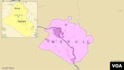 Mosoul, Irak