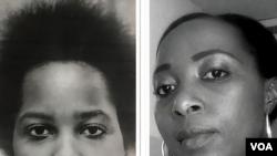 Agnes Kabarenzi (i Bubamfu) n'umukobwa wiwe Dr. Christine Uwimana.