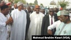 Shugaba Muhammad Buhari a jihar Jigawa