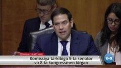 Senator Marko Rubio Xitoyni qoralab, uyg'urlarni himoya qilmoqda