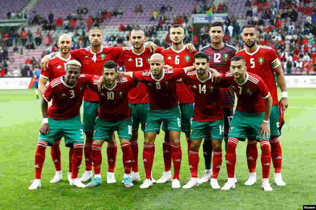 Mərakeşin futbol komandası