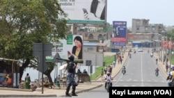 En images : manifestations à Lomé