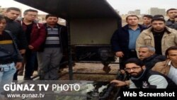 M.T. Zehtabinin məzarı - Şəbistər, İran Azərbaycanı
