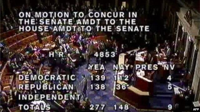 Cuộc bỏ phiếu chót đã diễn ra khuya thứ Năm ngày 16/12/2010 tại Hạ viện sau những cuộc tranh luận vô cùng sôi nổi