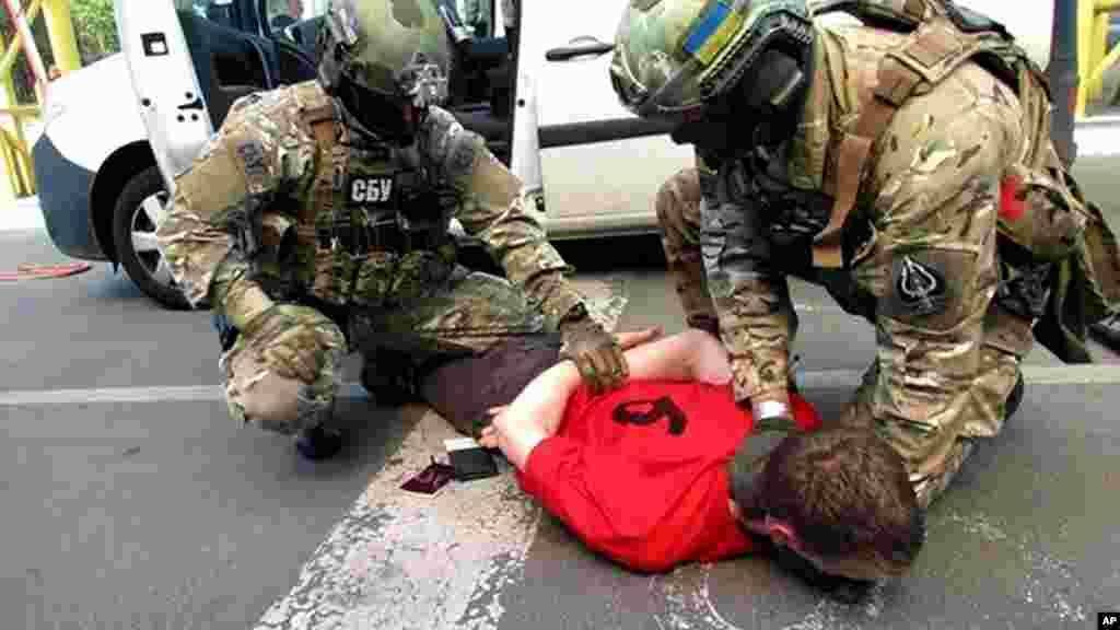 Les services de sécurité ukrainiens ont interpellé lundi 6 juin un Français soupçonné de préparer des attaques en France lors de l'Euro 2016.