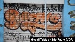 El graffiti: Arte rebelde para expresarse en São Paulo