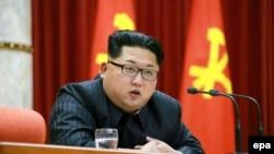 朝鲜领导人金正恩(资料图,来自朝鲜《劳动新闻》)