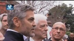 VOA60 Extra- George Clooney Arrested